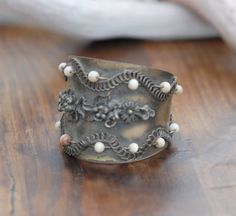 #Vintage #Turkish #Handmade #Silver #Bracelet by DesigningArts on Etsy, $150.00 Handmade Silver, Spotlight, Design Art, Cuff Bracelets, Wire, Trending Outfits, Unique Jewelry, Metal, Handmade Gifts