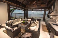 Norsota Way, Siesta Key residence. Perrone Construction Custom Homes, Sarasota, FL. Interiors by Riley Design.