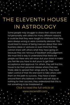 The eleventh house in astrology dives into integration into groups, how others help you on the path to success, what your limiting beliefs say about accepting help. Astrology Stars, Learn Astrology, Astrology And Horoscopes, Astrology Numerology, Zodiac Signs Astrology, Libra Sun Scorpio Moon, Sagittarius, Aquarius, Facts About People