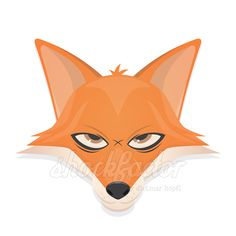 Angry Comic Fox shockfactor.de dietmar höpfl – stock vector logo design |