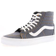 fd40f6f93f6bb1 Vans - Men s Sk8 Hi Reissue Sneakers - Dress Blues Dress Blues