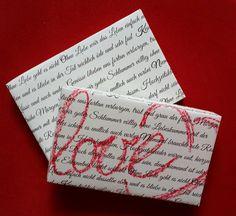 Geschenkbox Hochzeit von Textatelier PM auf DaWanda.com
