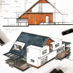 Nice Design & Presentation By . _ Nice Design & Presentation By . For The post Nice Design & Presentation By . _ appeared first on Architecture Diy. Architecture Concept Drawings, Architecture Sketchbook, Architecture Portfolio, Architecture Plan, Architecture Details, Interior Architecture, Landscape Architecture, Architectural Drawings, Computer Architecture