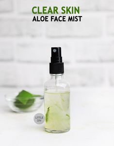 Diy Herbal Skin Care: How To Use Plants To Make Natural Beauty Products Aloe On Face, Aloe Vera For Face, Toner For Face, Face Care Tips, Face Skin Care, Diy Skin Care, Clear Skin Face, Fresh Aloe Vera, Dark Spots On Skin