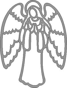 Angel Scroll Saw Pattern