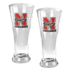 Great American NCAA 19 oz. Pilsner Glass Set - GLPGLP2330-4