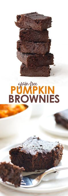 Looking for a fall treat made with REAL ingredients? Make these delicious (grain-free) paleo pumpkin brownies that are decadent, chewy, and irresistible!
