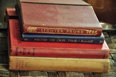 Lot of 4 books on English Prose and Verse with by MrsandMisscurio
