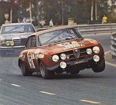 An Alfa Romeo Giulia GT as fast as possible