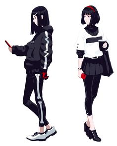 Likes, 23 Comments - Featuring Page Female Character Design, Character Design Inspiration, Character Concept, Character Art, Kawaii Anime Girl, Anime Art Girl, Girls Characters, Female Characters, Mode Cyberpunk