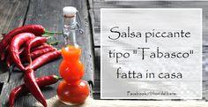 Ricetta per il Tabasco