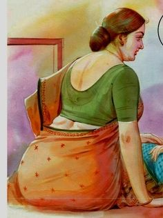 Sarojadevi--Dream Girl, Abhinaya Saraswathy, Ass Queen Etc.Crossing One Crore… Indian Women Painting, Indian Art Paintings, Sexy Painting, Woman Painting, Drawing Face Shapes, India Art, Woman Drawing, Beauty Full Girl, Indian Beauty Saree