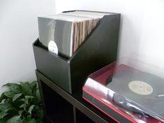 Bin-e record storage case
