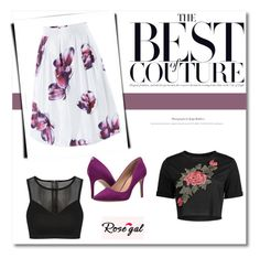 """Rosegal 10"" by miincee ❤ liked on Polyvore featuring GUESS"