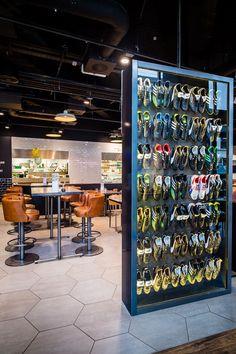 © Paul Winch-Furness #designmk #design #CafeFootball #interior #designconcept #interiorconcept #ChecklandKindleysides #restaurant #footballcafe #RyanGiggs #GaryNeville