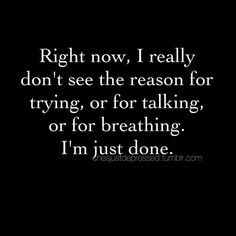 Right now, I really don't see the reason for trying...