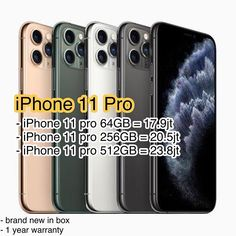 iPhone 11 Pro Available Green Gold Grey Silver - iPhone 11 pro = - iPhone 11 pro = - iPhone 11 pro = Call / WA 0812 6875 9975 Green And Gold, Iphone 11, Phone Cases, Grey, Silver, Gray, Phone Case, Money