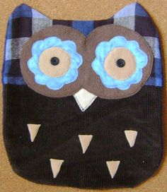 REDUCED Handmade WOODSY Owl Pillow  Perfect  by kalenescustomgifts, $10.00