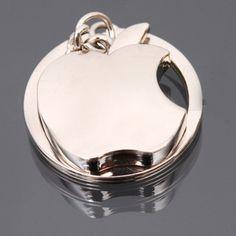 New arrival Novelty Souvenir Metal Apple Key Chain Creative Gifts Apple Keychain Key Ring Trinket CN-KC-31243