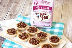 Sarah Bakes Gluten Free Treats: gluten free vegan pumpkin pecan tartlets
