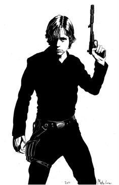 Luke Skywalker by Mark Lone