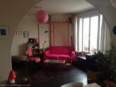 Paris (Montreuil) 3 bedrooms, sleeps 8, $840/wk.