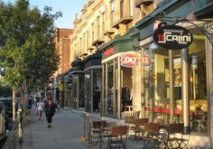 Sherbrooke is a plethora of diversity in relation to its food and material offerings. You can usually find whatever you need and dine leisurely at its many restaurants. It is a true promenade among shops and nature, always in transition. By Marylin Smith Carsley
