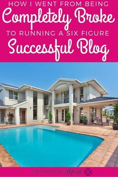 I went from having my credit cards declined to making a six figure income blogging. Here's how I did it ||| make money blogging, grow blog, become a blogger, start a blog, grow a blog, make money with a blog