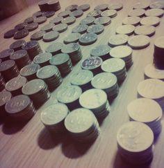 안녕 나의 동전들아.