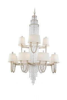 VICEROY 16+8LT CHANDELIER OVAL