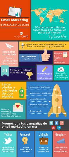 Guía-email-marketing-para-conseguir-suscriptores-infografía-Teresa-Alba- MadridNYC #infographic #infografia #emailmarketing