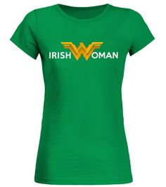 IRISH WOMAN  Round neck T-Shirt :Price 20.17 €   :Great gift for mother, father, brother, sister, uncle, grandfather, grandmother on birthday, Christmas, Thanksgiving, New Year, Mother's Day, Dad's Day, Independence Day, st patrick's day …