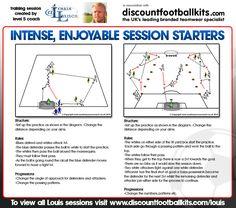 Intense, Enjoyable Session Starters http://www.discountfootballkits.com/blog/intense-enjoyable-session-starters/