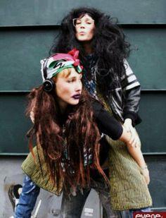 Bianca and Sierra Cassidy aka CocoRosie