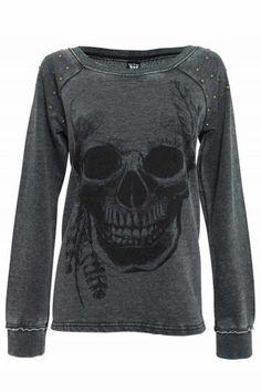 sullen clothing skull