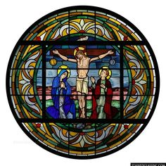 Crucifixion Rose Window
