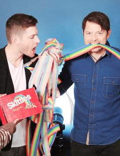 — jensen & misha. Who would give these two that much sugar?