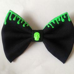 Nightmare hair bow
