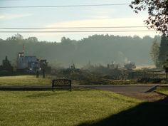 10/08/2013 Existing treeline has been clear-cut for the new Avon, Ohio Middle School.