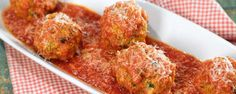 These meatballs are packed with flavor that the whole family will love! ingredients SICILIAN MEATBALLS 1 cups panko breadcrumbs (soaked in milk) pound sweet Italian fennel sausage (removed from casing) pound ground beef 3 large eggs (beaten) cup Sicilian Meatballs Recipe, Sicilian Recipes, Meatballs 2, Entree Recipes, Meat Recipes, Cooking Recipes, Pizza Recipes, Diabetic Recipes, Gourmet