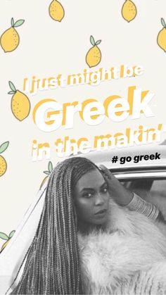 Go Greek, Greek Life, Alpha Gamma, Tri Delta, Sorority, Graphics, Graphic Design, Printmaking