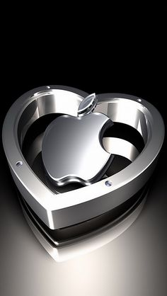 Silver Apple Logo Wallpaper Wallpapers) – Wallpapers and Backgrounds Apple Logo Wallpaper Iphone, Iphone Homescreen Wallpaper, Iphone Wallpaper Glitter, Silver Wallpaper, Heart Wallpaper, Cellphone Wallpaper, Photo Wallpaper, Wallpaper Keren, Nature Wallpaper