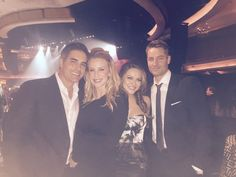 Chrishell Stause: Days50 with my old Days TV flame Galen Gering and lovely wife Jenna! Hartley Justin
