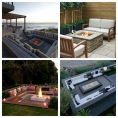 Garden firepit inspirations. Ognisko w ogrodzie - Green Design inspiracje. Outdoor Furniture Sets, Outdoor Decor, Pergola, Patio, Garden, Inspiration, Home Decor, Biblical Inspiration, Garten