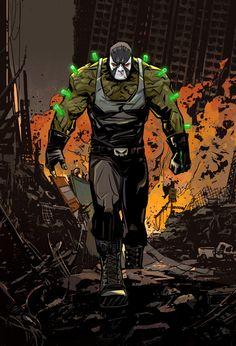 Do you guys think Bane's dependency on his venom makes him a realistically flawed opponent for Batman? Seems like all Batman has to do is… Jinx Dc Comics, Zoom Dc Comics, Dc Comics Girls, Dc Comics Art, Cheetah Dc Comics, Darkseid Dc, Bane Batman, Batman Art, Superman