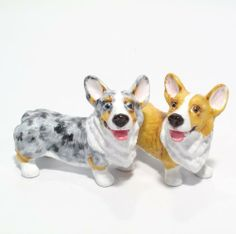 Pembroke Welsh Corgi  Salt and Pepper Shakers