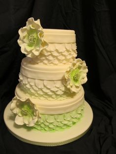 Pretty Petal Cake By Bleighva on CakeCentral.com