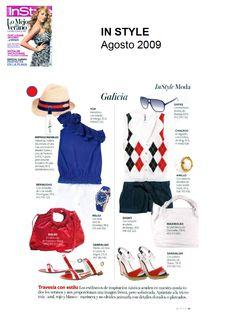 #Colaboración con la #Revista In Style. Agosto 2009.
