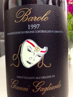 """They say don't judge a book by its cover. Does that go for wine, too? Because this is label that I would buy even if it weren't a Barolo, """"king of wines"""" from Piemonte, Italy"""