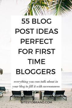 55 Blog Post Ideas Perfect for First Time Bloggers! Make your blog pop with all these content ideas. This list is jam packed with everything you can write in your blog to fill it with awesome content! // How to Blog